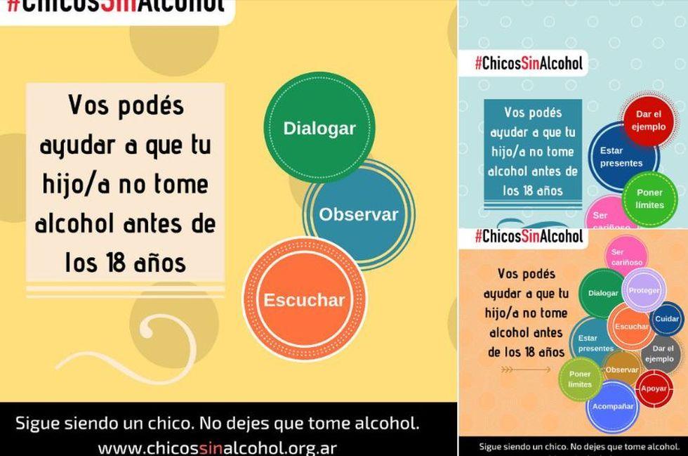 Twitter - Limitar y erradicar la banalización del consumo de alcohol en los menores