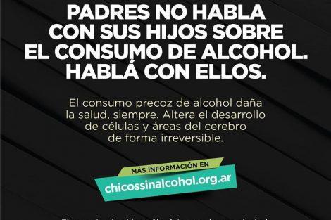 El 37% de los padres no habla con sus hijos sobre el consumo de alcohol