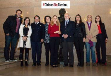 """Premio Santa Clara de Asis a la Campaña """"Niños sin Alcohol"""""""