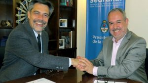 Carlos Damin - Convenio con Sedronar