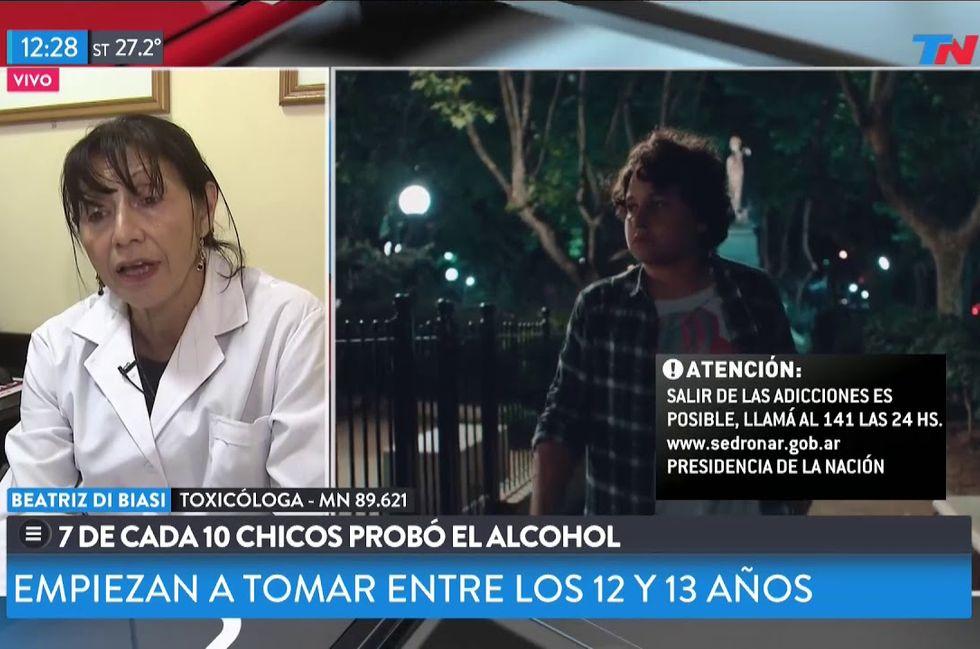 TN | Con Bienestar -7 de cada 10 chicos menores ya probaron alcohol