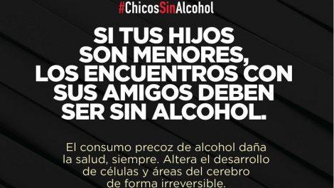 Si tus hijos son menores, los encuentros con amigos deben ser sin alcohol