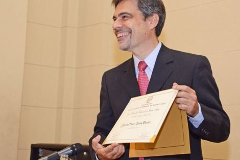 El Dr. Carlos Damin fue declarado Personalidad Destacada de las Ciencias Médicas.