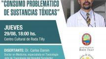 Charla de Prevención de Consumo problemático de sustancias y Promoción de Hábitos saludables en la Municipalidad de Rada Tilly