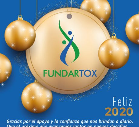Tarjeta salutación Fundartox 2020