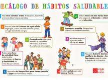 Los hábitos saludables en casa son una buena estrategia para disminuir los consumos problemáticos de los más chicos
