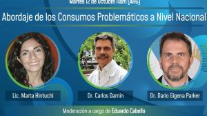 2° Jornada de abordaje de los consumos problematicos a nivel nacional